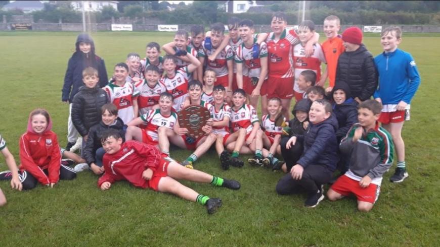U14 Division 1 Shield Final: Gaeil Colmcille 4-07 St. Peter's, Dunboyne 3-04