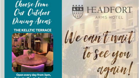 Headfort Arms Hotel Re-Opening