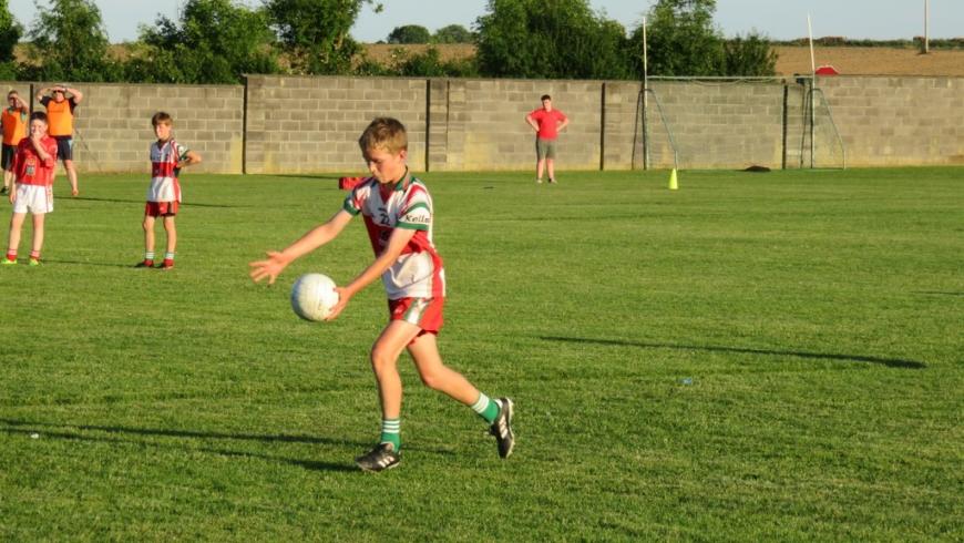 U15: Navan O'Mahony's 3-08 Gaeil Colmcille 3-10