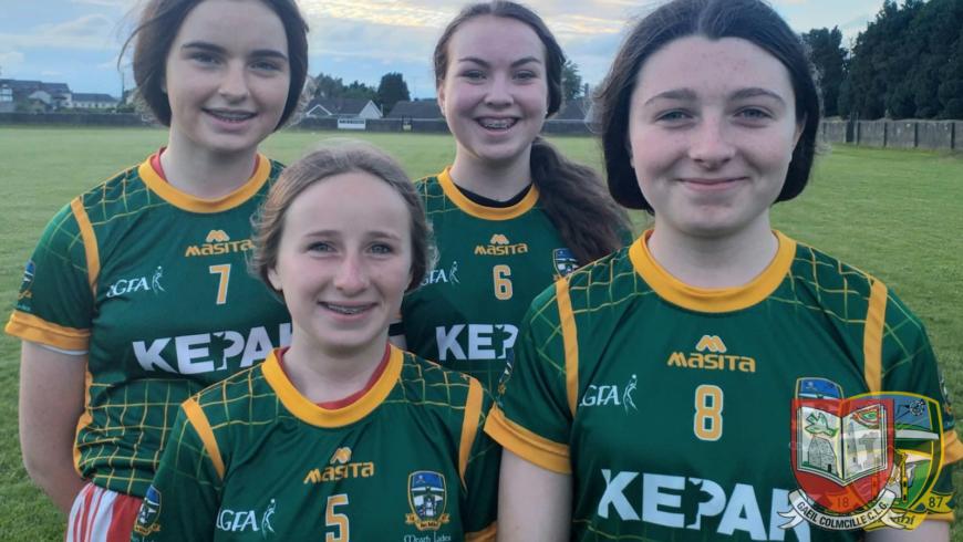 Four Gaeils Girls Make the County Grade